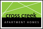 Cross Creek Apartment Homes logo, link to home